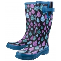 BURGHLEY RAINDROP WELLINGTON BOOTS