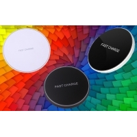 Wireless Qi charger round